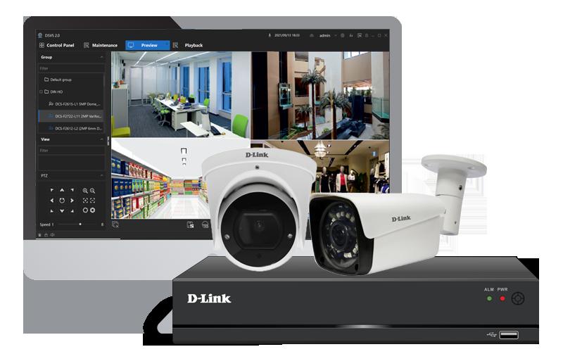 D-Link | Range of Cameras | CCTV Solution - IP Solution - Thermal